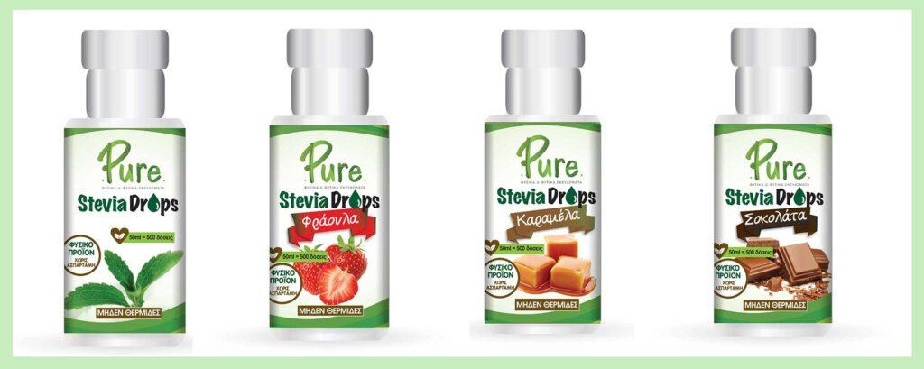 Pure superfoods - υπερτροφες στεβια